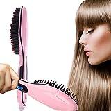 MKQPOWER spazzola per capelli con Ion Cura dei capelli, Pettino elettrico per la stiratura dei capelli.