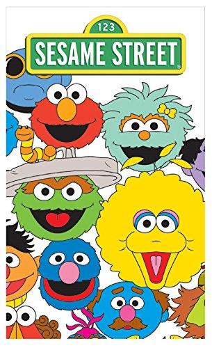Sesame Street bambini asciugamano 30x 50cm