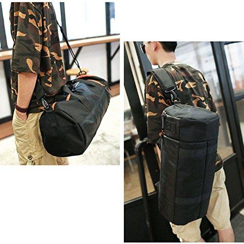 Umh?ngetasche aus der Schulter-Tilt-Tasche Folding Outdoor Sport Bag f¨¹r M?nner und Frauen Black