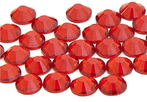 EIMASS® 7747Strasssteine, Güteklasse A - Hotfix Lapisfarben, Glaskristalle in Diamantenform für Kostüme, Handy-Schutzhüllen, persönliche Gegenstände, 100Stück -
