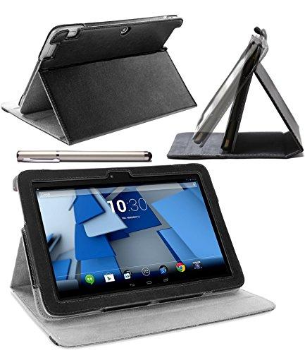 Schutzhülle mit rotierendem Ständer für HP Slate 7 Zoll (17,8cm)  Schwarz  HP Slate 10 HD ()