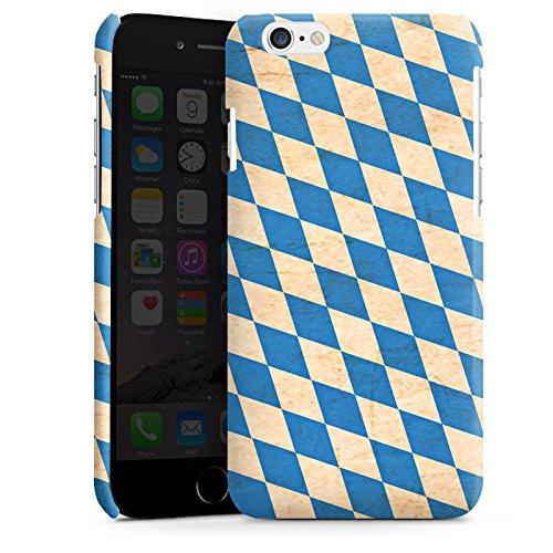 Apple iPhone 5s Housse Étui Protection Coque Bavière Drapeau Bavière Cas Premium brillant