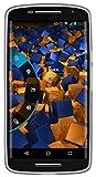 mumbi Schutzhülle Motorola Moto X Play Hülle transparent schwarz - 6