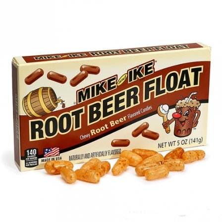 Mike and Ike Root Beer Float 5 OZ (142g)