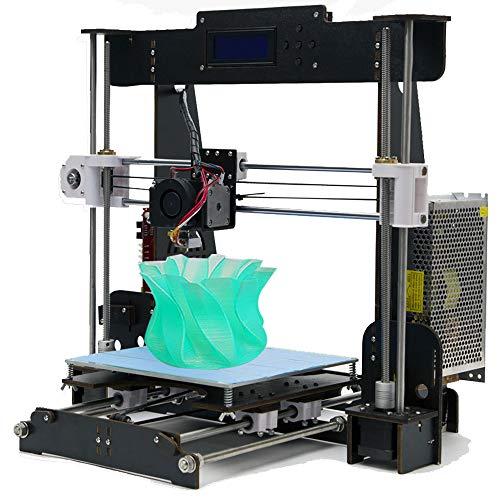 win-tinten A8 Hölzern DIY 3D Drucker Reprap Kits Prusa i3 Upgrade MK8 Extruder 220 * 220 * 240mm Druckgröße (A8 DIY 3D Drucker)