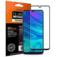 Spigen Full Cover  Cam Ekran Koruyucu Huawei P smart 2019 ile Uyumlu / Tam Kaplayan - Black (1 Adet)