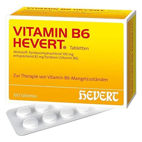 Vitamin B6 Hevert Tablett 100 stk (Neugeborenen-vitamine)