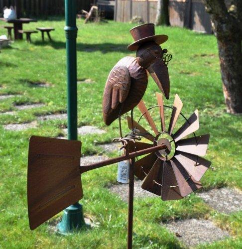 Windrad, Gartenstecker - Höhe 150cm