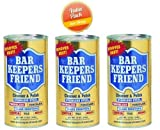 Bar Keepers Friend? Cleanser & Polish: 12 OZ, PK-3 by Bar Keepers Friend