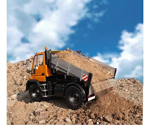 RC Auto kaufen Baufahrzeug Bild 6: Carson Modellsport Unimog Mercedes Benz U300 Bauhof 1:12 RC Einsteiger Funktionsmodell Baufahrzeug i*