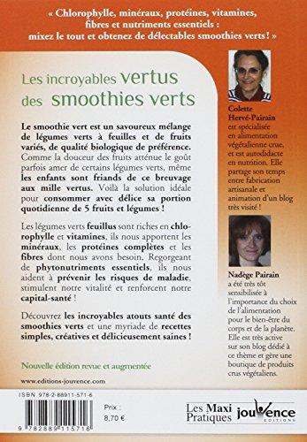 Les incroyables vertus des smoothies verts : La chlorophylle santé