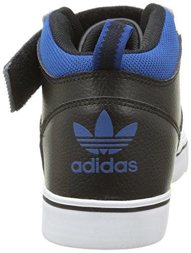 adidas Varial II Mid, Sneaker Uomo Weiß (Ftwr White/Core Black/Eqt Blue S16)