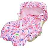 Baybee 5 in 1 Premium Quality Baby Carry Cot Cum Rocker (Pale Red)
