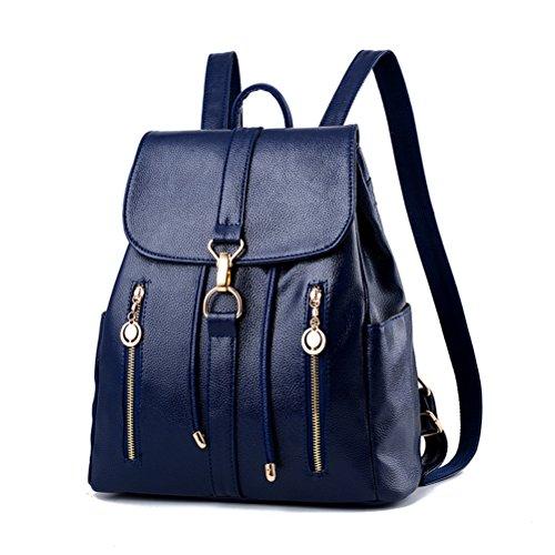 Flada , Damen Rucksackhandtasche blau blau M blau