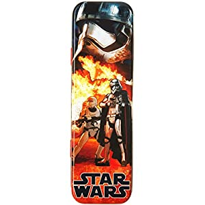Promobo–recinto a lápiz Plumier Disney Star Wars llama rojo