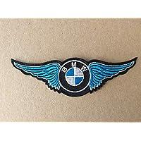 BLUE HAWAI Ecusson Patches aufnaher Toppa termoadhesiva–BMW ala Azul–14* 4,5cm