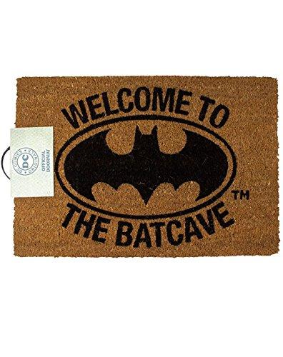 Felpudos Cómics Batman Welcome To The Bat Cave Door Mat