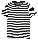 SELECTED FEMME Damen T-Shirt Sfmy Perfect SS Tee-Box Cut-STRI. Noos, Mehrfarbig (Black Stripes:Snow White), 38 (Herstellergröße: M)