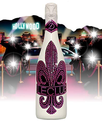 Le Club Swarovski Pink champagne alternativa di lusso (spumante cava) bianco | 1.000 Armand cristallo pink gioielleria | regalo set | per le donne | regalo femminile