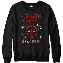 Merry Xmas Dead Logo Jumper, Ugly Christmas Design Adult Top