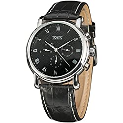 LEORX Premium Quality Men Boy Fashion Automatic Mechanical Wrist Watch - 1 Piece