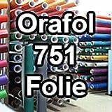Sichtschutz oracal751–1-5mx63–00Displayschutzfolie für Küchenschränke/Dekoration Label 63cm x 5m glänzend, weiß, ORACAL751-1-5mx63-00