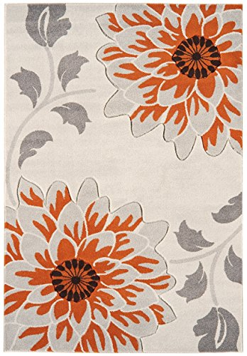 Designer Contemporary rug Rug 60x120cm orange Tresco