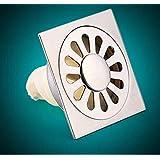 Moderner, minimalistischer Stil Waschmaschine entleeren, Deodorant square core Edelstahl Bodenablauf