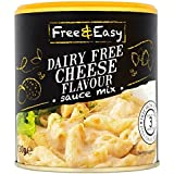 Free & Easy Lácteos Sabor A Queso 130g Mezcla De Salsa Gratis (Paquete de 2)