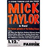 TAYLOR, MICK - ROLLING STONES - 1998 - Konzertplakat - A Stone throw Live - HH