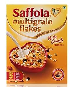 Saffola Multi-Grain Flakes Nutty Crunch - 225 g