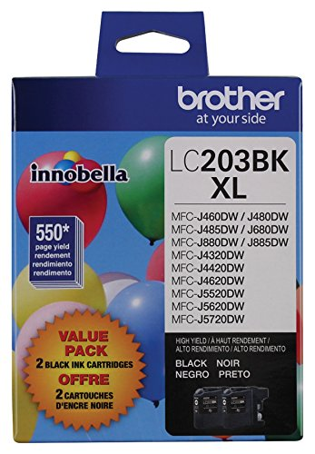 Brother Ink Refills Black Lc2032pks