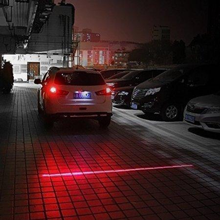 Vheelocityin Motorcycle / Bike / Scooter Keep Distance Hazard Laser Light For Piaggio Vespa