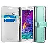 Best Spigen Galaxy Note 4 Screen Protectors - Spigen Case Wallet S Mint for Galaxy Note Review