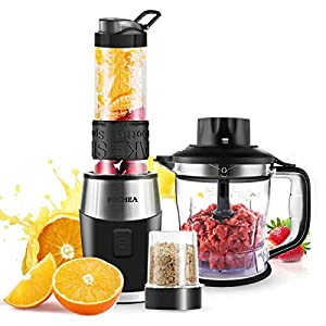 Mixer Smoothie Maker 3 in1 Multifunktion Standmixer + Fleisch...