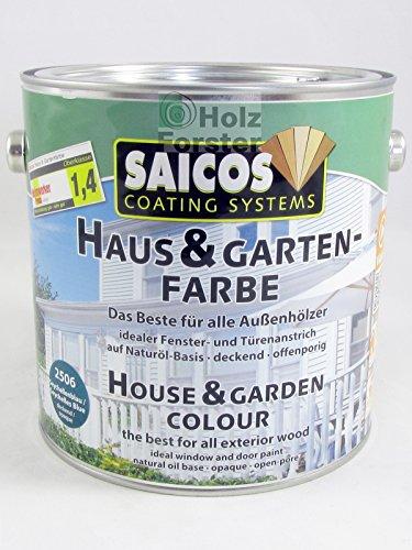 Saicos Haus & Gartenfarbe Anthrazit Deckend 2791 - 2,5l