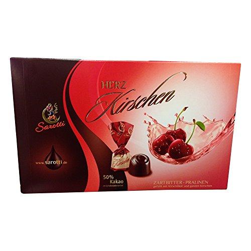 Sarotti Herz Kirschen Zartbitter-Pralinen Mit 50% Kakao (250g)