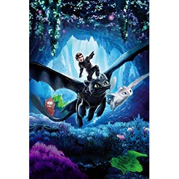 How To Train Your Dragon One Sheet Poster Größe 61x91,5 cm Dragons 3