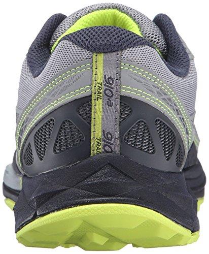 New Balance Men's 910v3 Trail Running Shoe Grey/Yellow
