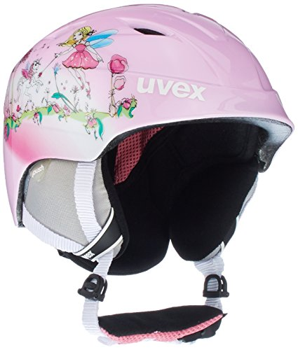 Uvex Kinder Airwing 2 Skihelm, Fairy, 46-50 cm