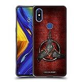 Head Case Designs Officiel Star Trek Empire Klingon Insignes Étui Coque en Gel Molle pour Xiaomi Mi Mix 3