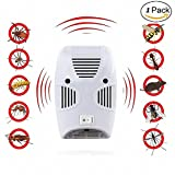 #1: Electric Pest Repelling Aid Magnetic Ultrasonic Indoor Rat Sensor / Pest Repellents Aid With Night Light Electronic Home Pest & Rodent Repelling Aid for Mosquito, Cockroaches, Ants Spider Insect Pest Control