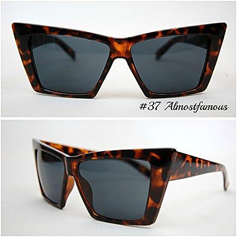 Alternativa Gatto Tort/nero VTG 50s/60s da donna, stile occhi di gatto occhiali da sole occhiali retrò Rockabilly Vintage UK mondo Eye Wear