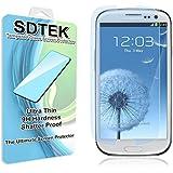 SDTEK Samsung Galaxy S3 / S3 Neo Verre Trempé Protecteur d'écran Protection Résistant aux éraflures Glass Screen Protector Vitre Tempered