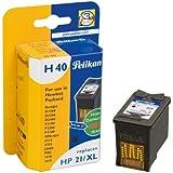Pelikan HP 21 XL - Cartucho inkjet (para HP DeskJet 3910, D1445, PSC 1401, 15 ml) color negro