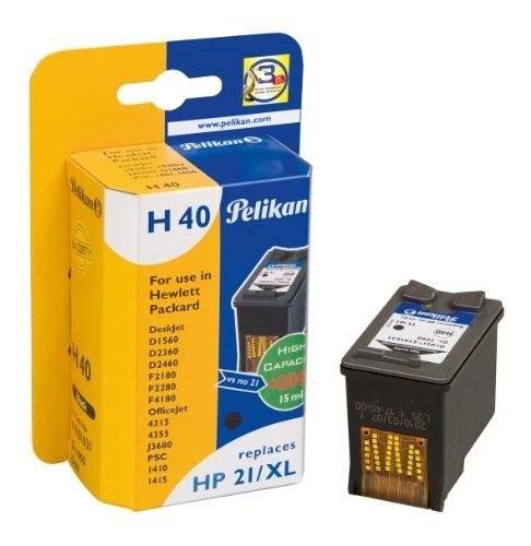 Preisvergleich Produktbild Pelikan Druckerpatrone H40 ersetzt HP C9351CE, Schwarz (pigment)