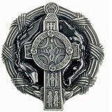 Hebilla de Cruz celta vor Guirnalda de nodo, Hebilla