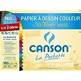 Canson 200002778 Pochette couleur 24 x 32 cm Multicolore