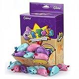 Chiwava - Jeu interactif doux, coloré, en forme de petite souris, pour chats, 7,9cm