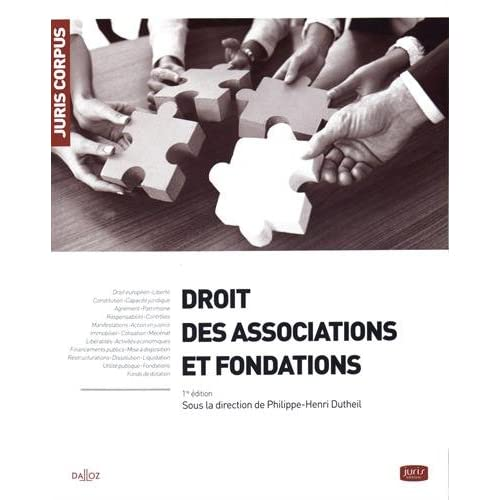 Droit des associations et fondations: Fondations et organismes sans but lucratif